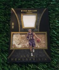 2015-16 Black Gold Memorabilia #35 Kobe Bryant Jersey Card #ED /99 Lakers