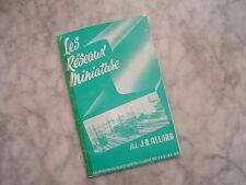 CATALOGUE TRAINS HO Les Réseaux Miniature  J-R ALLARD 1955 - 66 pages