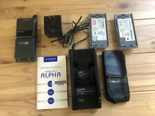 Vintage Motorola MicroTAC Alpha Phone + Accessories Cellular One
