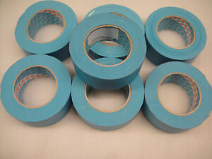 7 x 3M 3434 Scotch Blue 50mm Masking Tape with Manufacturing Defects
