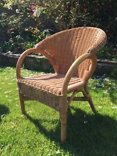childs wicker chair, excellent condition, very stable, ideal for toddler to 5yrs