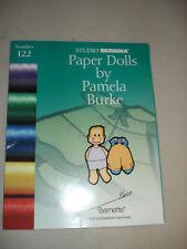 Studio Bernina Paper Dolls #122 Bernette Deco Embroidery Card