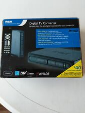RCA DTA80 Digital-to-Analog TV Converter Box  w/ Remote & Cable  NEW IN BOX
