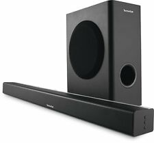 "TechniSat AUDIOMASTER SL 900"" 2.1 Kanal Soundbar mit Wireless Subwoofer schwarz"