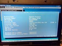 HP COMPAQ 8510W Motherboard