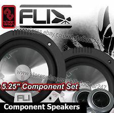 """FLi Fl5C 5.25"""" inch 450W Component Car Van Speakers,Tweeters,Crossovers Set"""