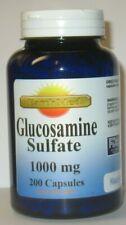 Glucosamine Sulfate 1000 mg  200 Capsules Joint Health