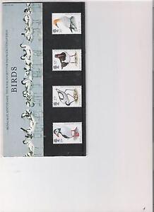 1989 ROYAL MAIL PRESENTATION PACK R S P B BIRDS MINT DECIMAL STAMPS
