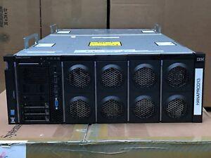 IBM x3850 X6 Server 4x Xeon E7-8880V3 1024GB DDR4 RAM 3x 300GB 15K 4x 1400W PSU