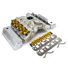 fits Ford 302 351C Cleveland Hyd Roller Cylinder Head Top End Engine Combo Kit