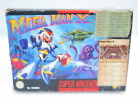 Mega Man X | Nintendo Super Nintendo SNES Spiel | in OVP | PAL