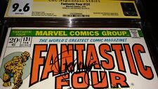 Jim Steranko Signed Fantastic Four #131 CGC SS 9.6 (1973) NM+  - White Pages