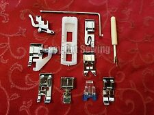 11 pc Snap On Sewing Machine Feet Foot Set Brother,kenmore, Babylock