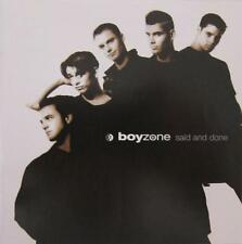 Boyzone - Said and Done - Includes 'Oh Carol' , So Good ' and 'Father and Son'