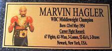 Boxing Marvin Hagler  Photo  Free Postage