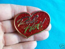 HALLMARK 1985 Valentines Glidder Red Hot Heart ! Pin