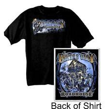 Kurzarm T-Shirt Roadhouse Bikers Only schwarz Gr. XL