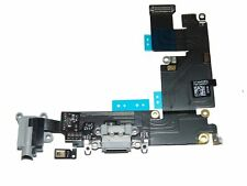 Dark Gray Charging Port Flex Cable, Earphone Jack and Mic for iPhone 6 Plus -...