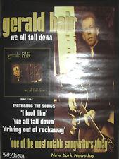 GERALD BAIR We All Fall Down, Mayhem promotional poster, 2008, 18x24, EX!