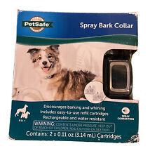 PetSafe Spray Bark Control Dog Collar Citronella & Unscented PBC00-16368 Sealed