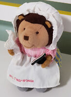 PETER RABBIT MRS TIGGY-WINKLE CHARACTER TOY! RARE 15CM SOFT TOY PLUSH TOY!