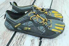 Mens FILA SKELE-TOES Barefoot Running shoe Size 11 Slide Black A8