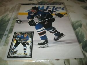 PETER BONDRA    POSTER 8 BY 11 WASHINGTON CAPITALS