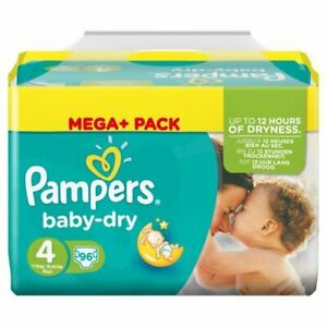 Pampers Baby Dry 4 (192 Pack)