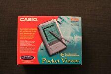Casio PV S250 Pocket Viewer Top ? Zustand mit Docking - Station