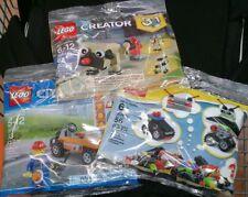 💲 3 NeW Packs LEGO Bundle 182pcs 30499 30542 30357 City & Creator 673419283793