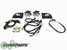 2012-2014 FIAT 500 POP WITH IVORY SWITCH FACE FOG LIGHTS LAMP KIT MOPAR GENUINE