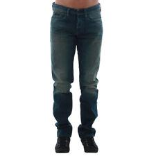 Calvin Klein Jeans Hombre Jeans pantalón low high waist Azul 10660