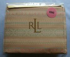 NEW Ralph Lauren Inverness Fairisle Multicolor King Duvet Comforter Cover NIP