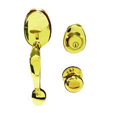 Gatehouse Lexington Polished Brass HY77F1B Keyed Entry Door Handleset