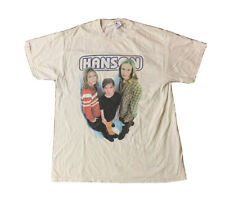 Vintage 1997 Hanson Pop Rock Band T-Shirt size Large