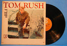 TOM RUSH TAKE A LITTLE WALK WITH ME VINYL LP 1966 MONO ORIG NICE COND! VG/VG+!!