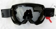 $120 Scott Mens Notice OTG Over The Glasses Black Grey Ski Goggles NL-32 Chrome