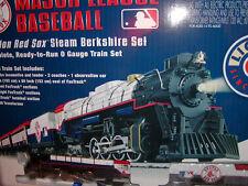 Lionel 7-12012 Boston Red Sox Ready to Run Passenger Steam Train Set O 027 New