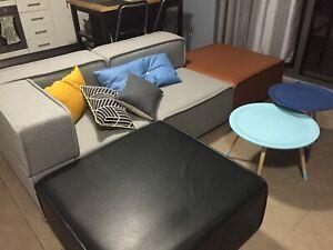 BoConcept Carmo Leather Sofa