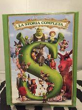 """Shrek """"La storia completa"""" - Blu-ray - 1,2,3,4 FILM - Nuovo COFANETTO RARO"""