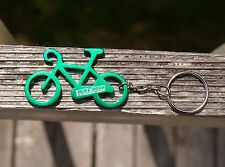 Green Bicycle Keychain Keyring Key Chain 2010 Bike to Work in Snohomish County