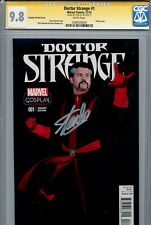 Doctor Strange 2015 1 CGC 9.8 SS Stan Lee Jason Aaron Chris Bachalo Marvel Now
