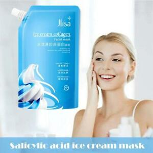 300g Collagen Ultra Cleansing Mask Ice Cream Mask Fades Acne Marks Whitening