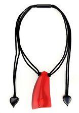 Zsiska Nuevo 'em Ocion' Colección 'Hermoso Collar Colgante Rojo
