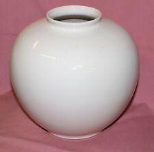 Villeroy Boch VB Mettlach alt Vase weiß gem 4133 Blumenvase H23 Tischvase  18937