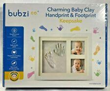 NEW 2010s Bubzi Baby Clay Handprint & Footprint Keepsake Kit Memory SEALED 9159