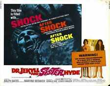 Dr Jekyll And Sister Hyde Poster 02 A4 10x8 Photo Print