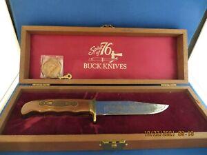 BUCK KNIVES SPIRIT OF 76 KNIFE American Bicentennial Commemorative Set #4335