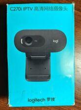 NEW LOGITECH C270i HD720p IPTV Webcam PC/Android 4.2 Video Calls USB2.0
