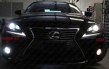 HID LED 6000k Upgrade Headlight Foglight for 14 15 16 Lexus IS250 IS350 IS200t